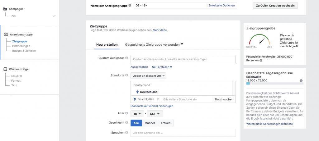 Das kleine Einmaleins der Facebook Ads: Zielgruppe definieren