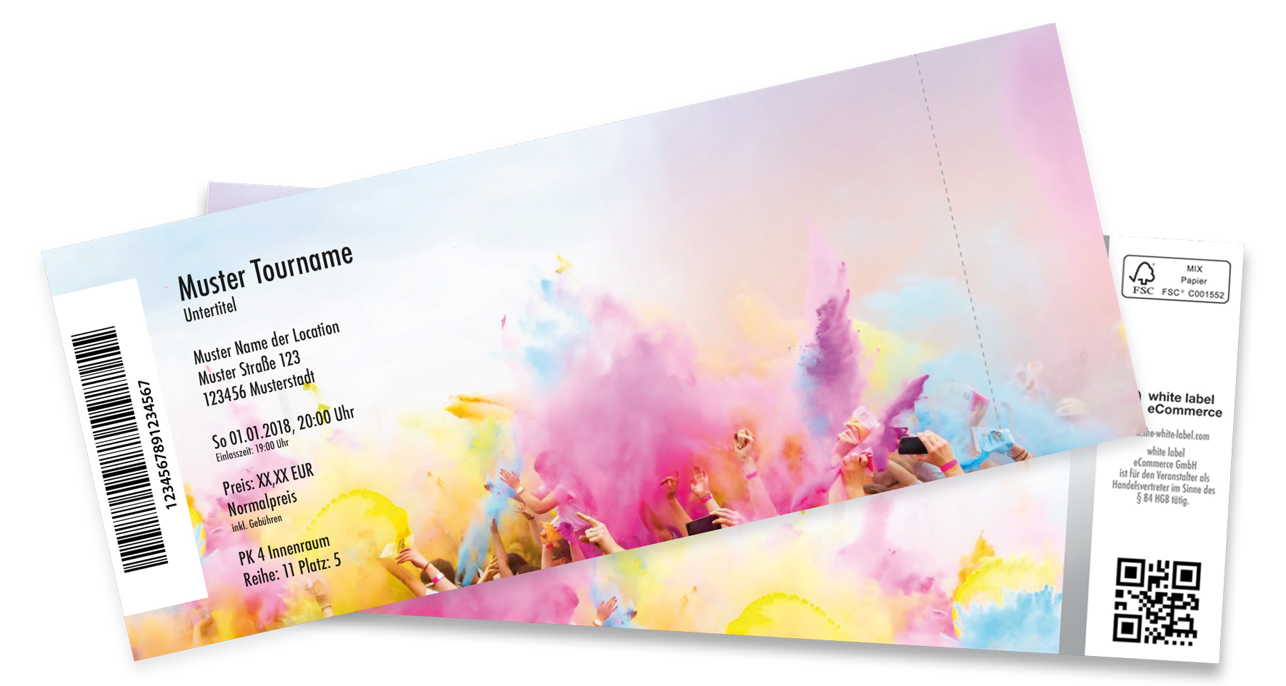 Colorticket white label Ticketing & eCommerce