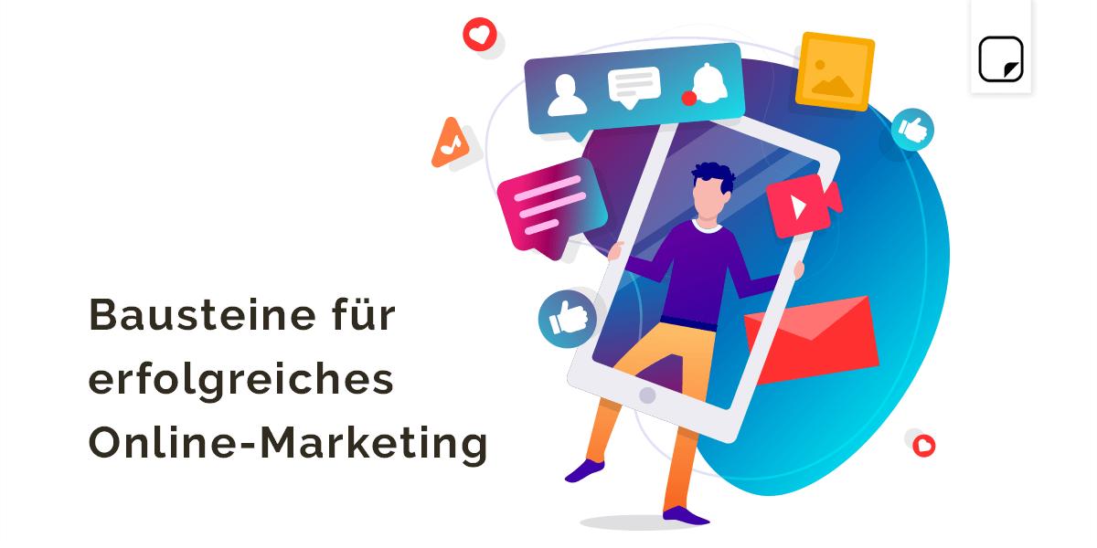 """""""Fabulous four"""" – vier Marketing Bausteine für dein Unternehmen"""