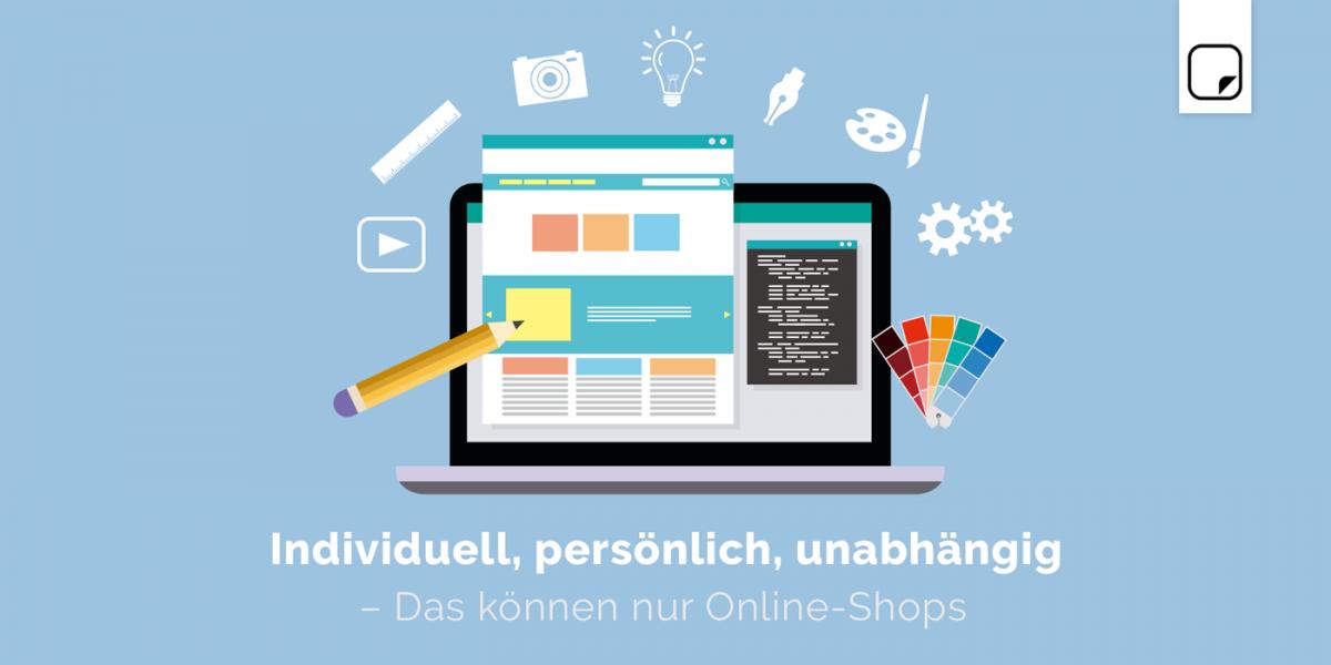 Individuell Persönlich Unabhängig Das Können Nur Online Shops