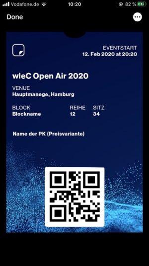 wleC Apple Wallet Pass