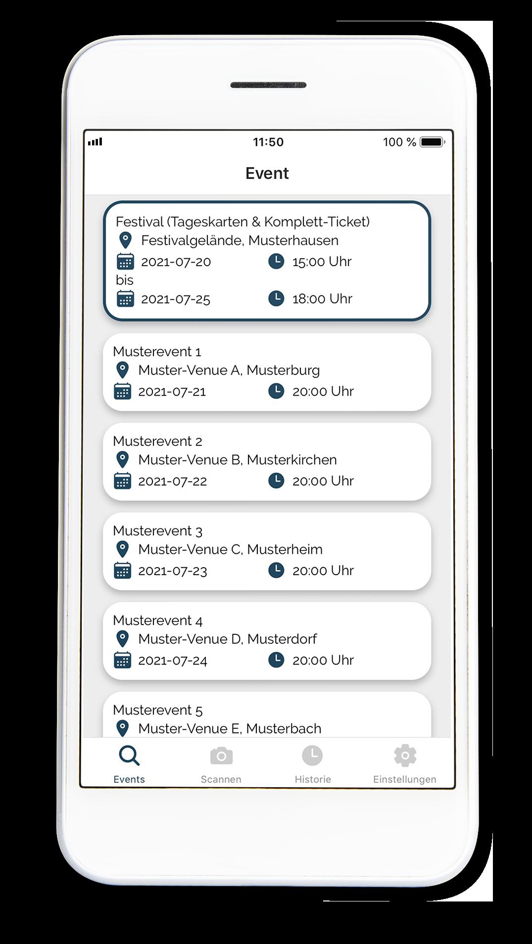 Einlassmanagement Fastlane Scan App